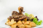 Lamp Chops with French fries