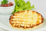 Grilled Talagani cheese with home made tomato jam